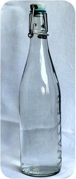 3er Paket Bügelflasche 0,5l WASSER aus Glas