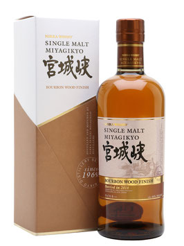 MIYAGIKYO SINGLE MALT BOURBON FINISH 46°