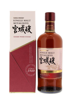 MIYAGIKYO SINGLE MALT SHERRY WOOD FINISH 46°