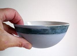 Schale Unikat hellblau