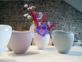 Vase in Herzform