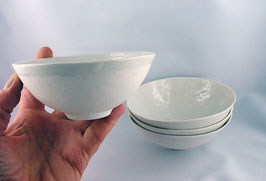 Teeschale mit zarter Struktur