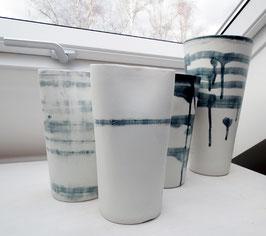 Vase one stripe