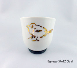Espressotasse YOU Tiere in Platin/ Gold