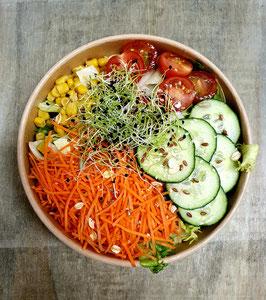 Salat gemischt