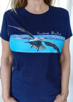 Ladies Houtman Abrolhos Islands T-shirt -  Lesser Noddy