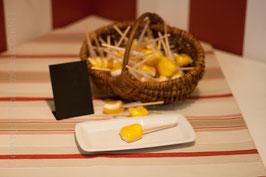 Zitronen Lolli