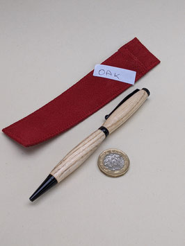 193. Oak wood hand-turned pen. What a nice pressie.