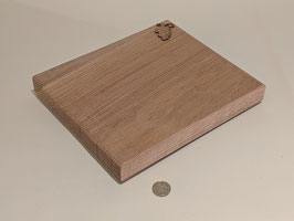 71. Hand made wooden chopping board