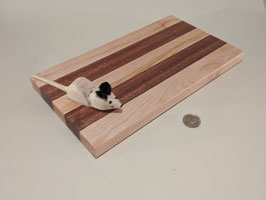 168. Newly listed.. - Cheese board with little friend to guard.