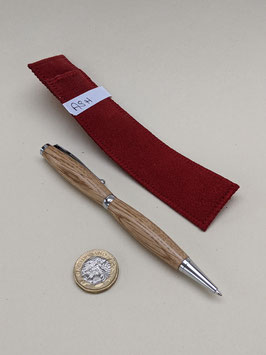 196. Hand turned wooden pen, ideal gift. made from Ash wood.