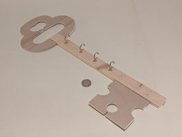 84. Key shaped Key holder with hooks