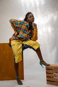 SAROUELHOSE Jeans Gelb *XS-M*