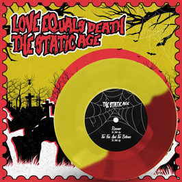 Love Equals Death / The Static Age (Split 7″ Yellow/Red Version)