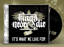 """""""IT'S WHAT WE LIVE FOR"""" CD"""
