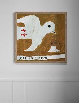 Finelittleday Poster Fly To Tokio