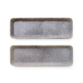 Marbled Stifte Tray Grey