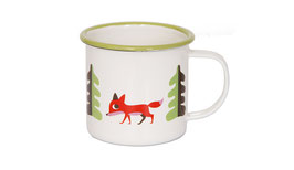Ommdesign Emaille Becher Fuchs