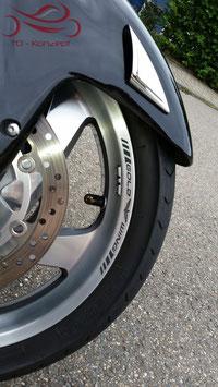 GL 1800 Reifenbeschriftung