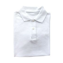 WIDA BEGINNERS WHITE POLO SHIRT