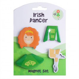 IRISH DANCER MAGNET SET