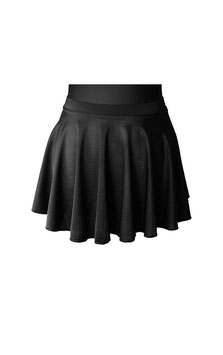 BLACK IRISH DANCE CIRCULAR SKIRT