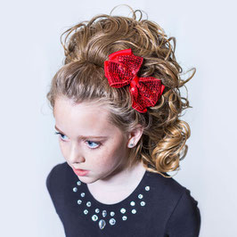 HAIR BOW - SEQUINED