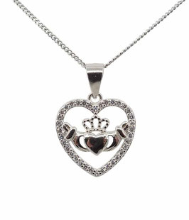 CLADDAGH HEART NECKLACE