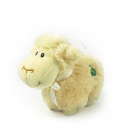 HUGGABLE WHITE SHEEP 5""
