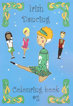 IRISH DANCING COLOURING BOOK - NR.2