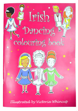 IRISH DANCING COLOURING BOOK - NR. 1