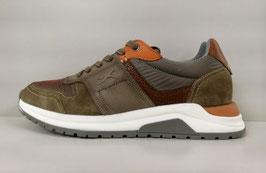BRAX STYLE JOSE RUNNING Sneaker aus wertigem Materialmix 1110002/140 565 tobacco combi