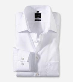 OLYMP Luxor  modern fit, Businesshemd, New Kent 030064 00 Weiß