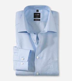 OLYMP Luxor  modern fit, Businesshemd, New Kent 030064 15 Blau
