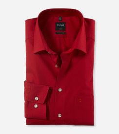 OLYMP Luxor  modern fit, Businesshemd, New Kent 030064 38 Chianti