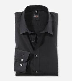 OLYMP Level Five  body fit, Businesshemd, New York Kent 609064 68 schwarz