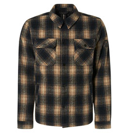 No Excess Jacket Check 97630923 014 Stone