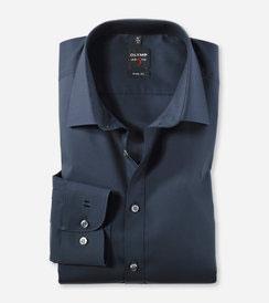 OLYMP Level Five body fit, Businesshemd, New York Kent 609064 18 Marine