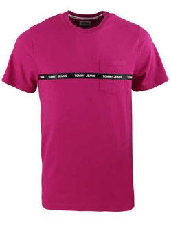 Tommy Jeans Kurzarm T-Shirt DMODM11410 VT1 beere