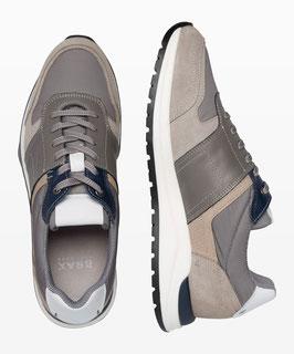 BRAX STYLE JOSE RUNNING Sneaker aus wertigem Materialmix 1110002/140 037 grey/navy combi