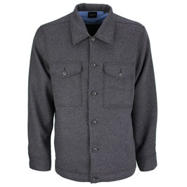 Boss Herren Overshirt Jacke Style Lom_1 - 50444968-001 schwarz