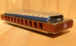 Custom Blues Harp MS Key of A