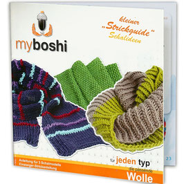 My Boshi Strickguide ~Schalideen~