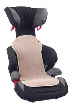 AeroMoov Sitzauflage sand für Autositz Gr. 2/3