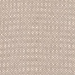 Baumwolle Webware, Tupfen, 2 mm, beige