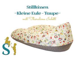 Stillkissen ~Kleine Eule - Taupe~