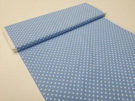 Stoff Michael Miller ~Monster Dots Blau~ 112 cm breit Meterware Baumwolle
