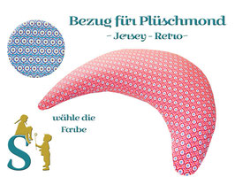Bezug für Plüschmond ~Jersey-Retro~