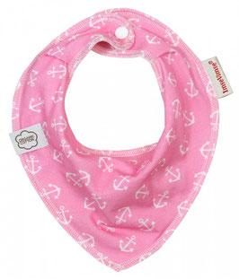 ImseVimse Bandana-Lätzchen ~Pink Anchor~
