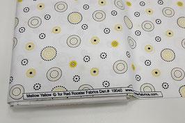 Stoff Mellow Yellow ~Yellow~ 112 cm breit Meterware Baumwolle